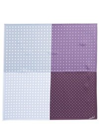 Light Violet Polka Dot Pocket Square