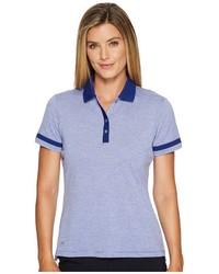 adidas Golf Three Toned Pique Polo Short Sleeve Pullover