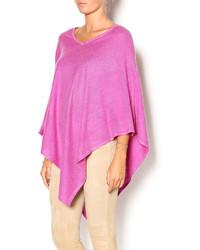 Lhm designs lavender cashmere poncho medium 340054
