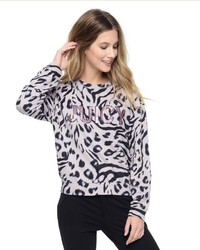 Juicy couture imperial leopard pullover medium 1160086
