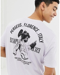 ASOS DESIGN Relaxed T Shirt With Historical Back Print