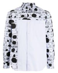 Comme des Garcons Homme Deux Comme Des Garons Homme Deux Dot Print Cotton Shirt