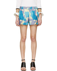 Viktor & Rolf Lavender Printed Shorts