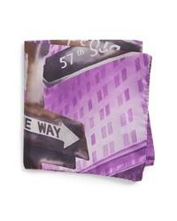 Eton New York Store Silk Pocket Square