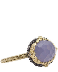 Armenta Old World Chalcedony Diamond Ring Size 65
