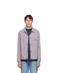Ps By Paul Smith Purple Shirt Jacket