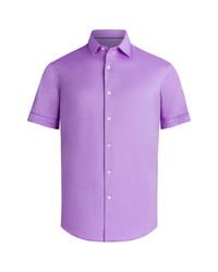 Bugatchi Ooohcotton Short Sleeve Button Up Shirt