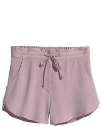H&M Craped Shorts