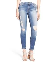 Light Violet Skinny Jeans
