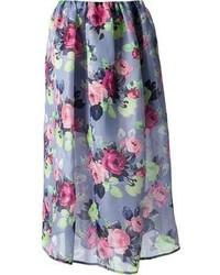 Light Violet Skirt