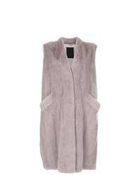 Liska Long Sleeveless Coat