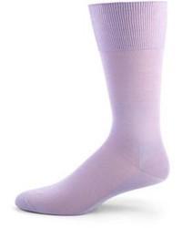 Falke Solid Cotton Knit Socks