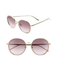 Gucci 56mm Gradient Round Sunglasses