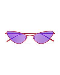 Poppy Lissiman Chi Chi Cat Eye Metal Sunglasses