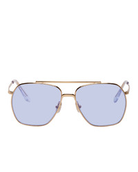 Acne Studios Gold Anteom Sunglasses