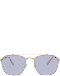 Maison Margiela Gold Purple Mykita Edition Mmcraft006 Sunglasses