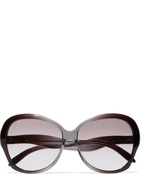 Victoria Beckham Happy Butterfly Square Frame Acetate Sunglasses Purple