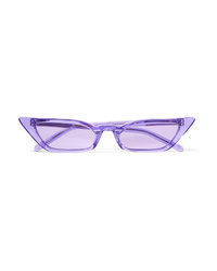 Poppy Lissiman Le Skinny Cat Eye Acetate Sunglasses