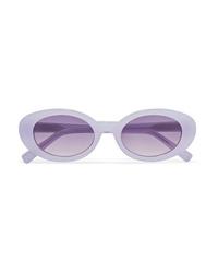Elizabeth and James Mckinley Oval Frame Acetate Sunglasses