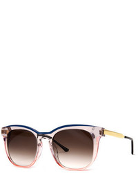 Thierry Lasry Pearly Two Tone Acetatemetal Square Sunglasses