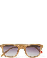 Oliver Spencer Spencer Square Frame Acetate Sunglasses