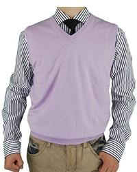 Light Violet Sweater Vest