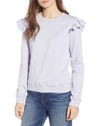 Rebecca Minkoff Sammy Ruffle Detail Sweatshirt