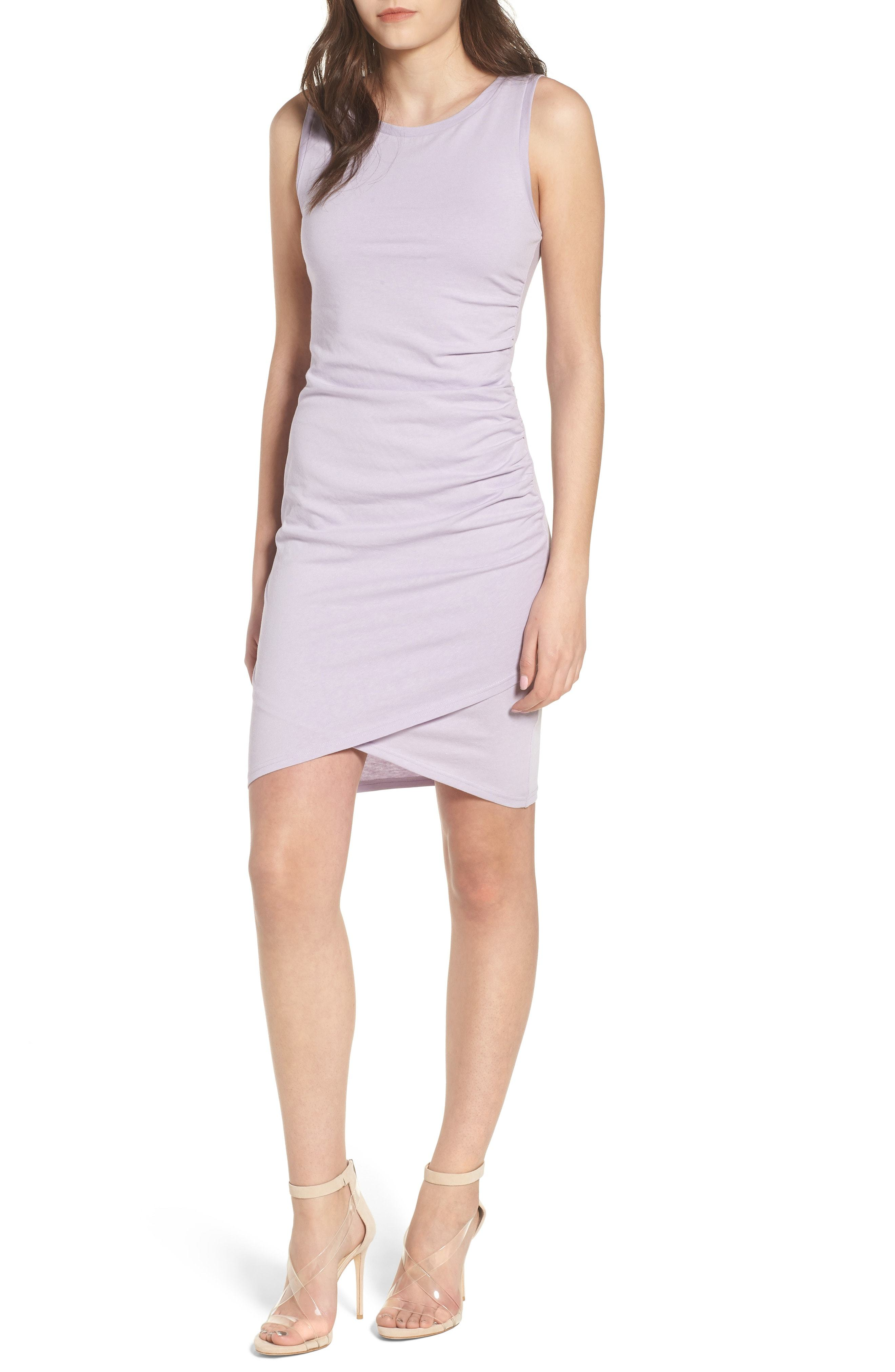 9002b4db6552 Leith Ruched Body Con Tank Dress