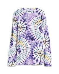 Vans Tie Dye Burst Long Sleeve T Shirt
