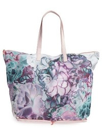 Ted Baker London Aynara Bloom Shopper Purple