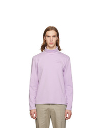 MAISON KITSUNÉ Purple Kool Fox Turtleneck