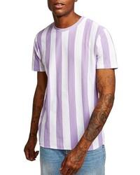 Topman Stripe Pique T Shirt