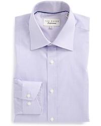 London oncore trim fit micro stripe dress shirt medium 576422