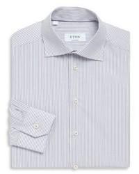 Eton Stripe Print Contemporary Fit Cotton Dress Shirt