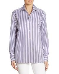 Ralph Lauren Collection Capri Striped Shirt