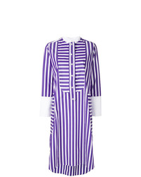 Maison Rabih Kayrouz Multi Stripe Shirt Dress