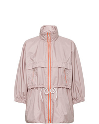 Prada Feather Nylon Rain Coat
