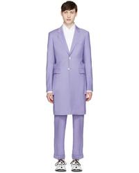 Comme des Garcons Comme Des Garons Homme Plus Purple Wool Slit Blazer