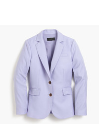 J.Crew Petite Tailored Blazer In Italian Super 120s Wool