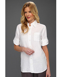 Linen button down blouse original 9838981