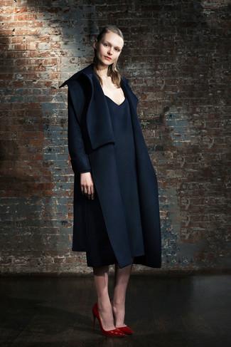 Zapatos para vestido azul marino oscuro