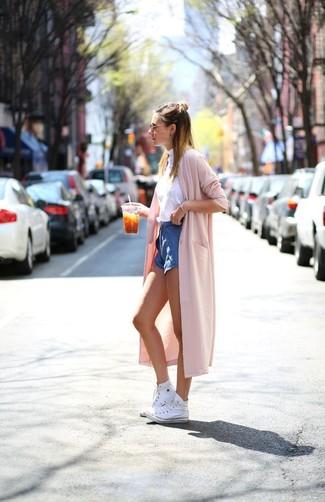 Cómo Blancas Con Unas Zapatillas Unos Altas Combinar Pantalones qwxqT4B6