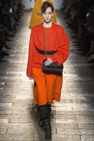 Abrigo naranja de Gianluca Capannolo