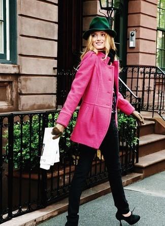Moda Moda Mujeres Combinar Cómo De Abrigo Un Rosa 146 Para Looks qFfZxq