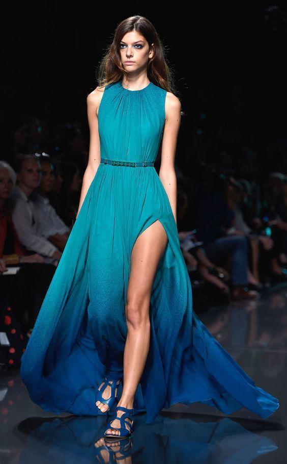 Aquamarine Evening Dresses