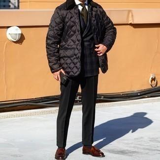 Denill Quilted Polar Fleece Jacket