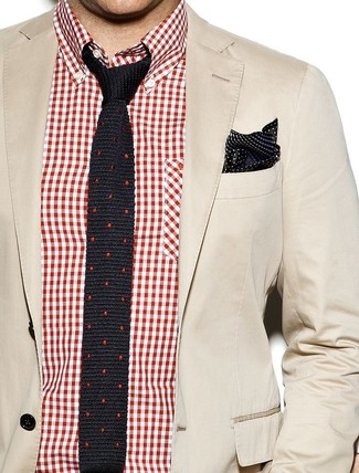 Stretch Three Button Blazer