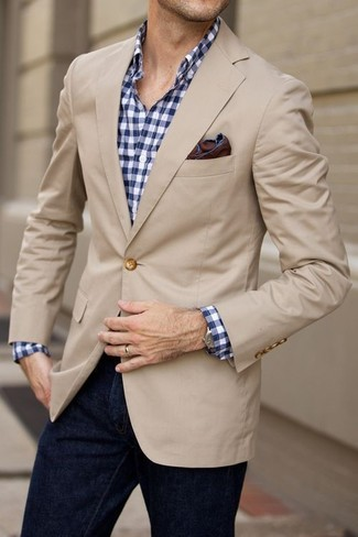 Maldon Slim Fit Cotton Linen Sport Coat By Boss
