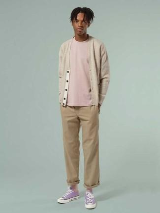 Elston 608 Slim Fit Twill Pants Charcoal Heather