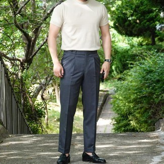 Ludlow Classic Suit Pant In Italian Cotton Piqu
